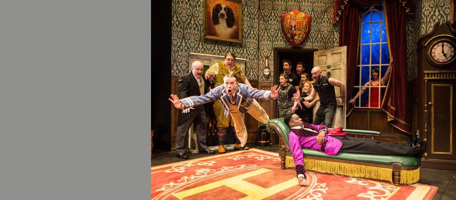 The Play That Goes Wrong, Duchess Theatre, Cardiff
