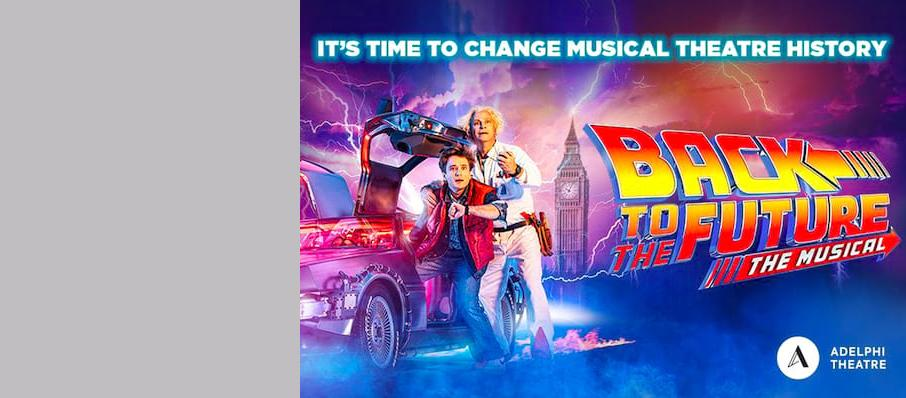 Back To The Future The Musical, Venue To Be Confirmed, Cardiff