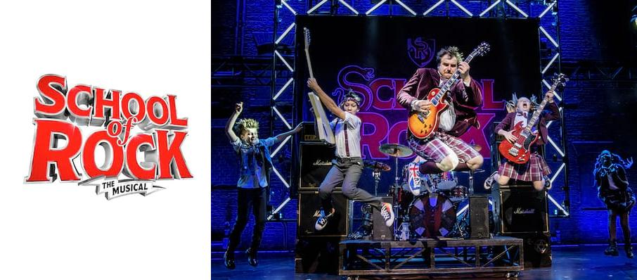 The School of Rock, New Wimbledon Theatre, Cardiff